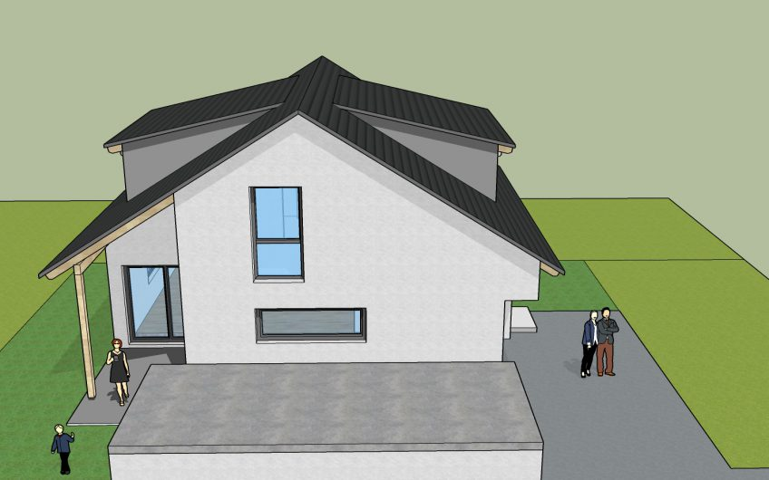 Neubau – Modernes freistehendes Einfamilienhaus